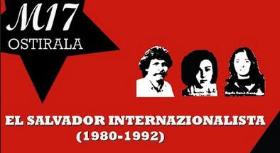El Salvadorreko eta Nikaraguako esperientzia internazionalistak aztergai
