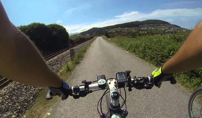 'Kantabriak mendikatea pedalkadaka udazkenean'