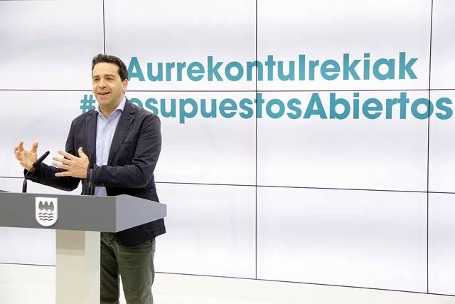Herriz herri joango da Aldundia 2018ko aurrekontua osatzeko ekarpenak jasotzera