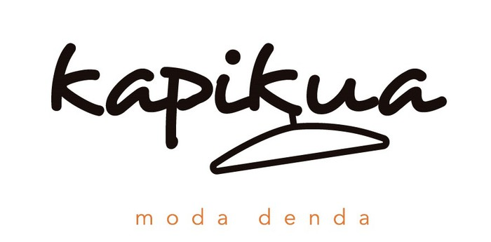 Kapikua moda denda logotipoa