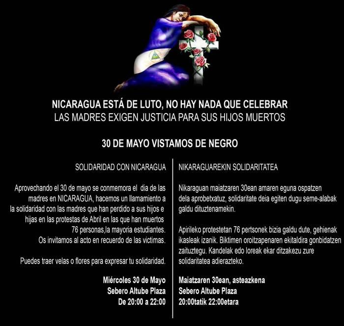Nikaraguarekin solidaritatea
