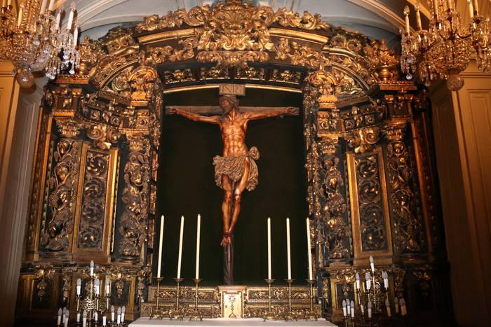 Bergarako Santo Kristo Hilzorikoa Sevillara