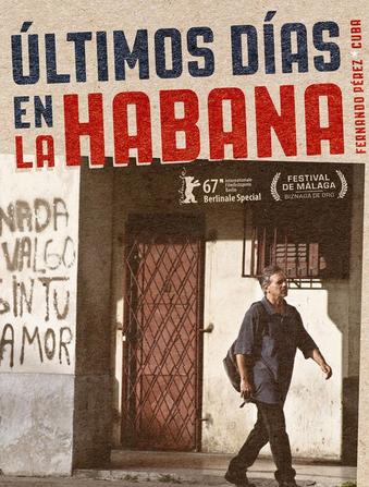 'Ultimos días en La Habana' filma, zineklubean