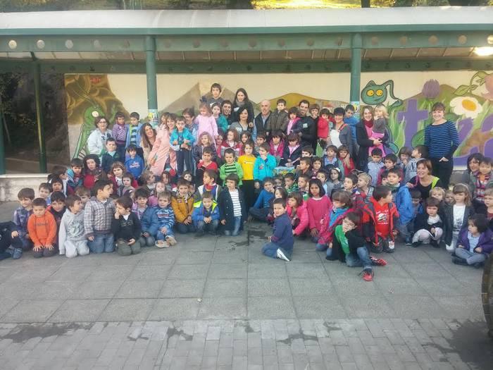 Ziburuko ikastolaren aldeko Kros solidarioa