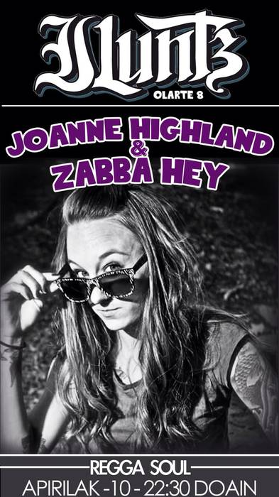 Joanne Highland eta Zabba Hey zuzenean