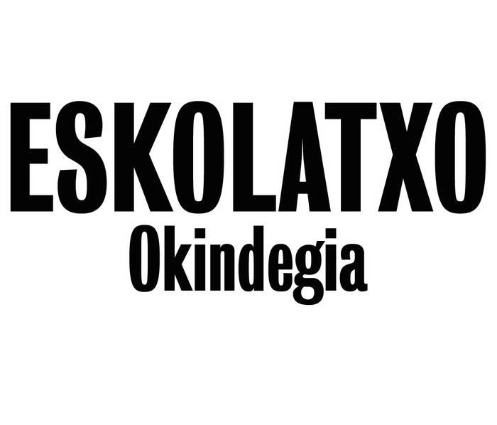 Eskolatxo okindegia logotipoa