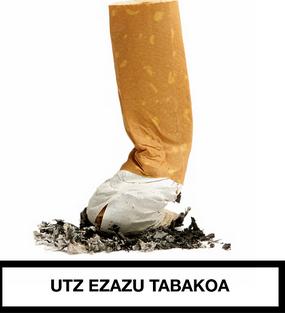Tabakoaren Kontrako Eguna: mahaia