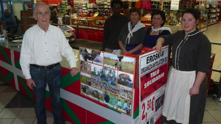 Mozambikera bidaliko dute talo solidarioekin lortutako dirua