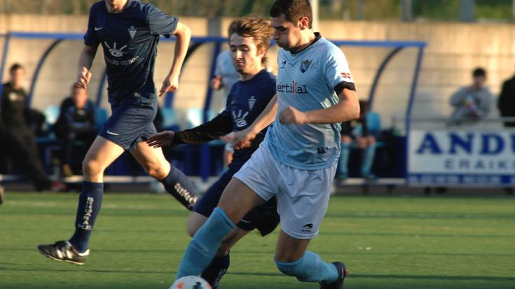 Aretxabaletak 2-1 irabazi du Bergararen aurkako derbia