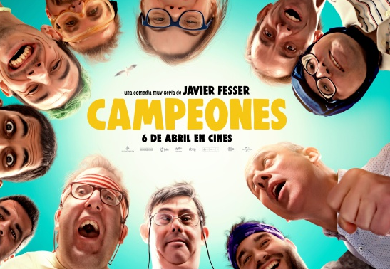 'Campeones' filma