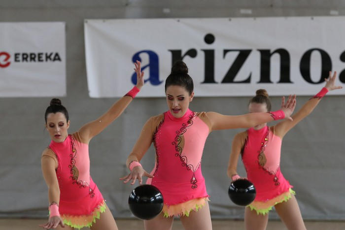 Maila bikaina gimnasia erritmikoko txapelketan - 23