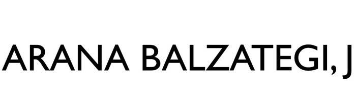 Arana Balzategi J. finken administrazioa logotipoa