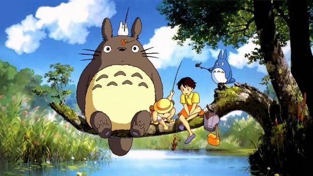 'Mi vecino Totoro' filma