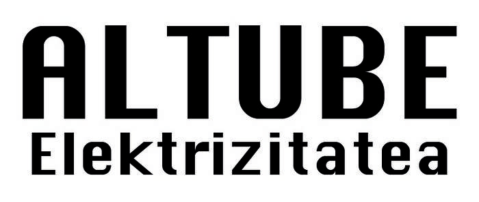 Altube elektrizitatea logotipoa
