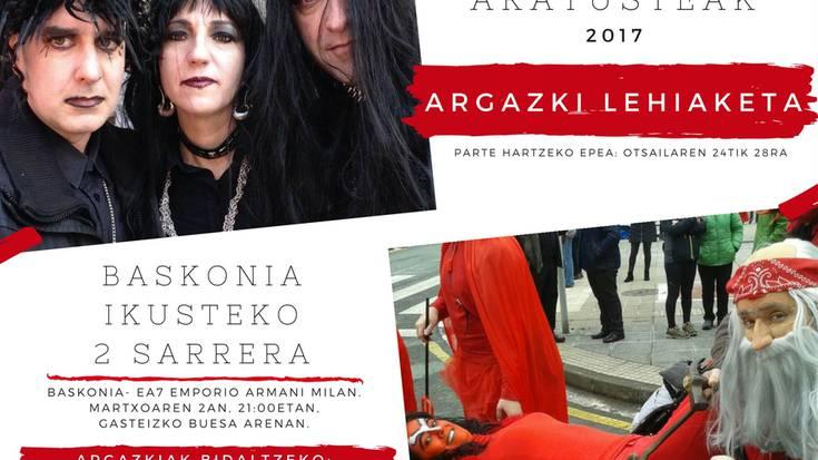 Aratusteak 2017ko argazki lehiaketa martxan