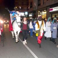 Bergarako Errege magoen desfilean, 100 lagundik gora aurten ere