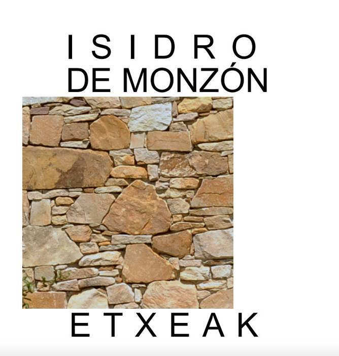 Isidro Monzon arkitektoari buruzko liburua aurkeztuko dute