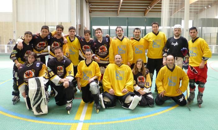 Hanka Labanka bergararrek irabazi dute Rivabellosako hockey txapelketa