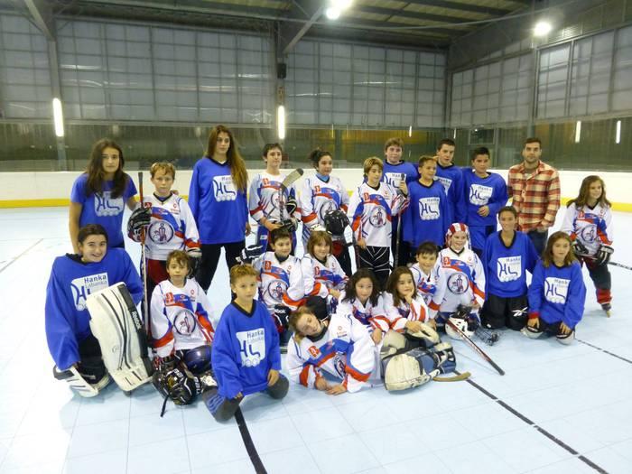 Euskadiko Ligako hockey partiduak ikusteko aukera bihar, Labegaraietan
