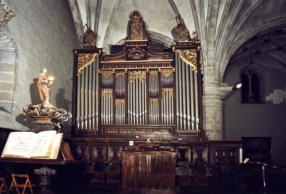 125 urte dira San Pedroko organoa inauguratu zutela