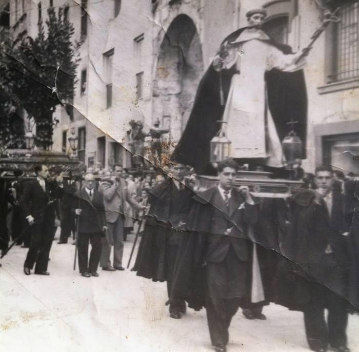 San Bixente Ferrer Aste Santuko prozesioan