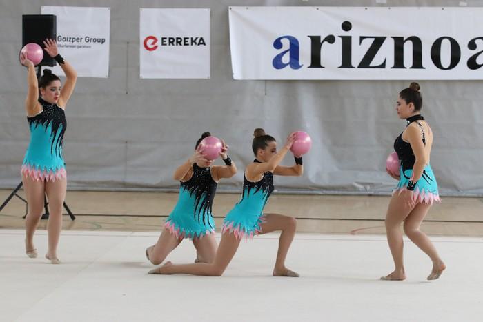 Maila bikaina gimnasia erritmikoko txapelketan - 58