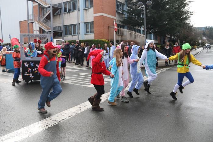 Inauterietako desfilea Aretxabaletan - 32