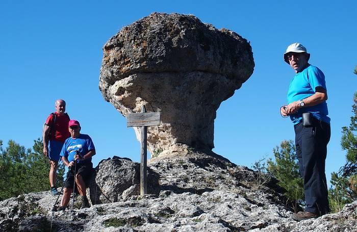 Pol-Polek mendi irteera antolatu du Serrania de Cuencara
