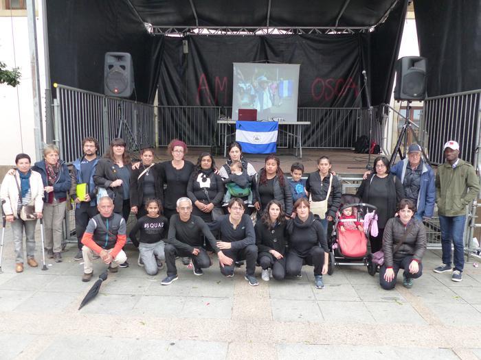 Nikaraguako protestetan hildakoak gogoan izan dituzte, Amaren Egunean