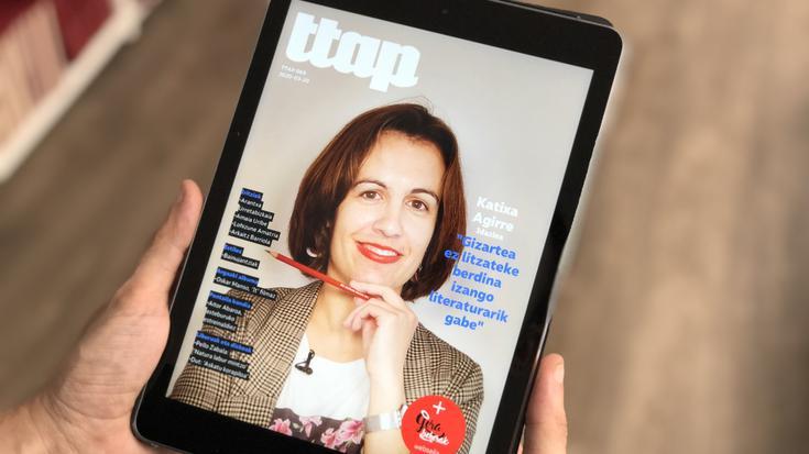'Ttap' aldizkari digitalaren edizio berriak ostiralean ikusiko du argia