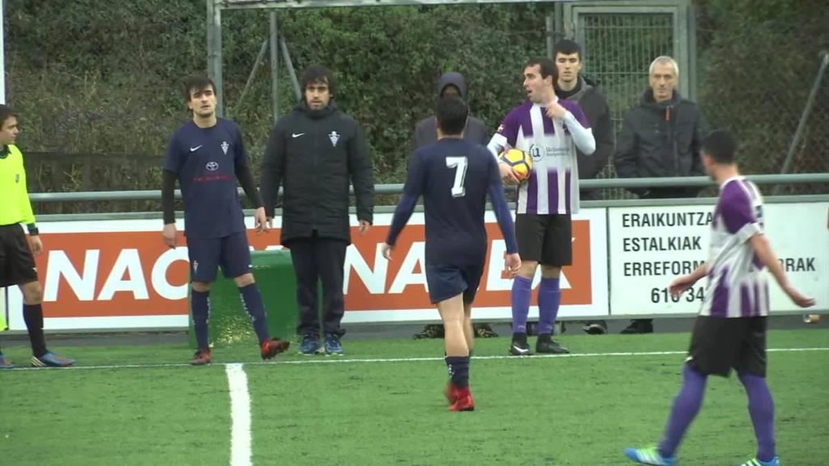'Harmailatik' kronika: Mondra eta Bergararen arteko futbol partidua
