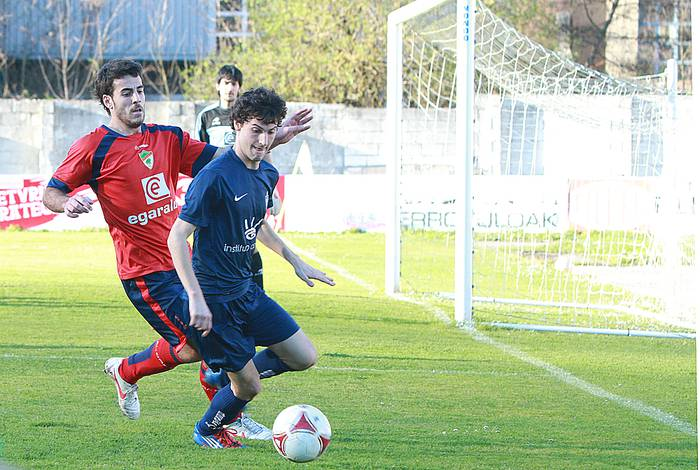 Aloñak irabazi du Agorrosingo derbia: 0-2