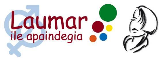 Laumar ile apaindegia logotipoa