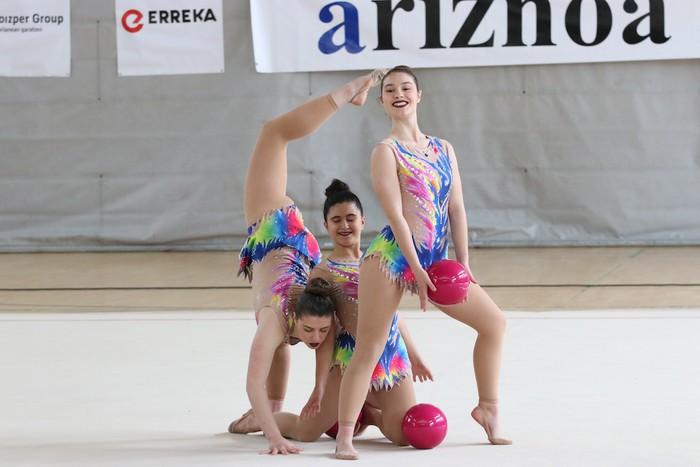 Maila bikaina gimnasia erritmikoko txapelketan - 50