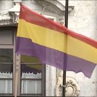 Bandera errepublikanoaren igoera