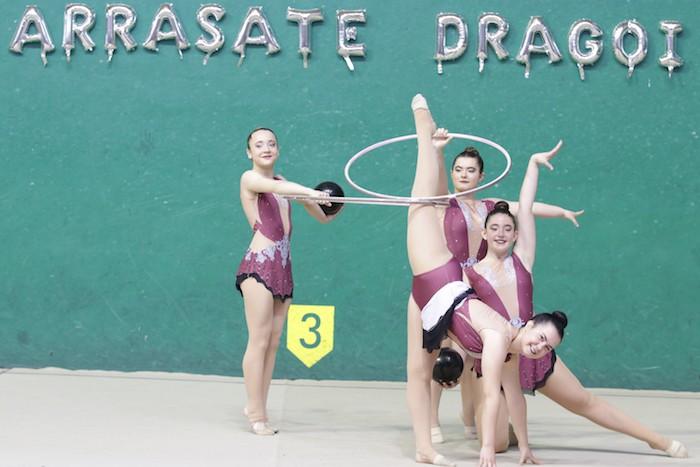 Ikasturte amaierako erakustaldia egin dute arrasateko gimnastek - 8