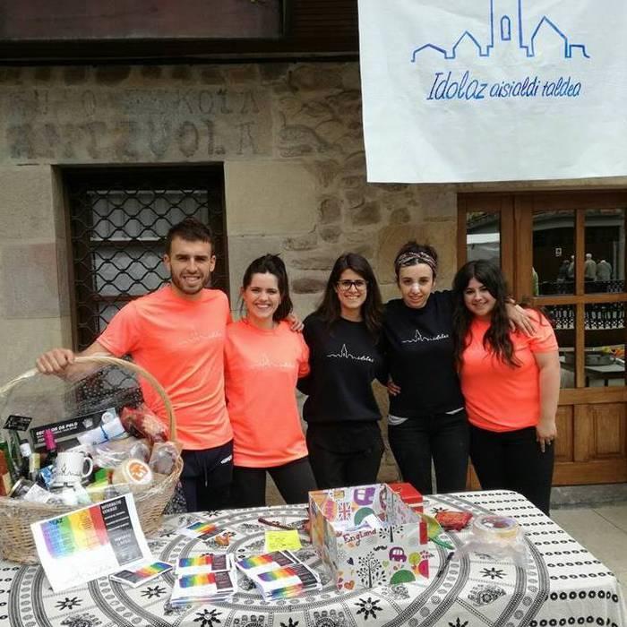 Aisialdi talde berria jaio da Antzuolan: Idolaz
