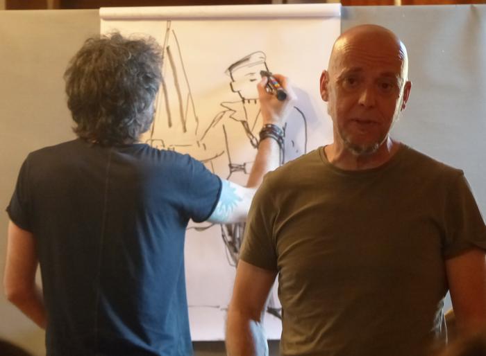 """Mikel Begoña: """"Komikia ere formatu interesgarria da historiaren dibulgaziorako"""""""