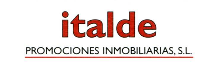 Italde promociones inmobiliarias S.L. eraikuntza enpresa logotipoa