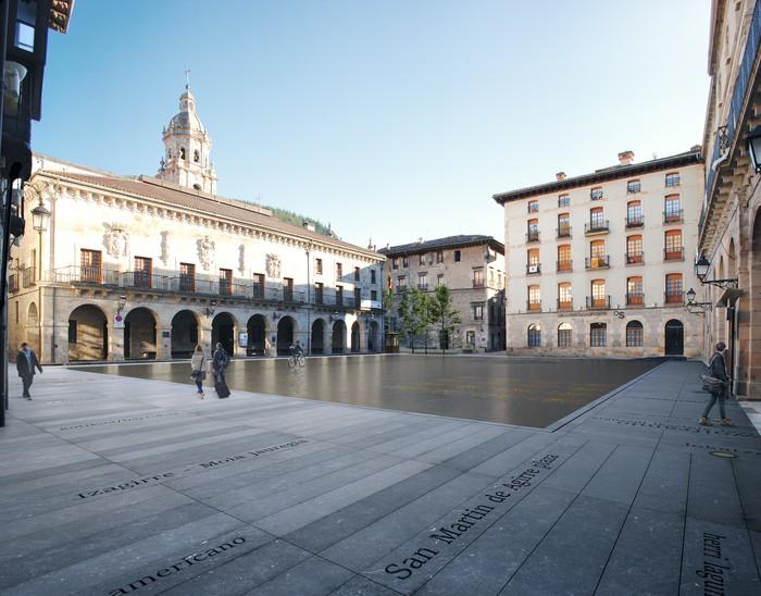 San Martin Agirre plaza eraberritzeko proposamena hautatu dute