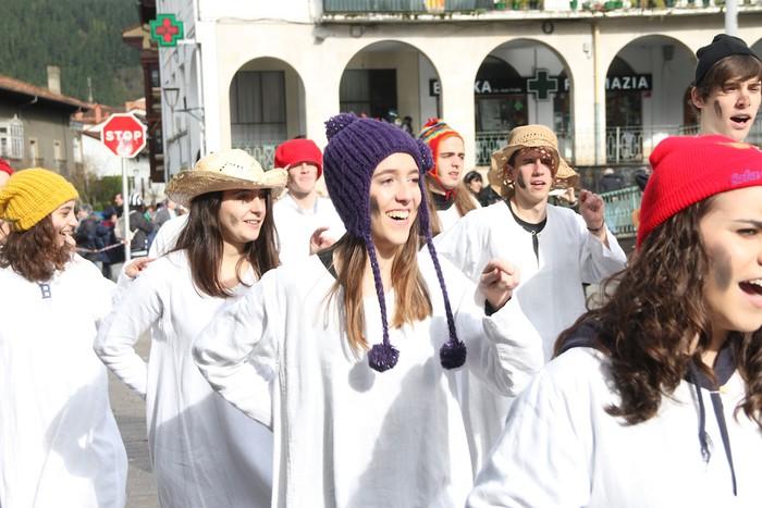 Inauterietako desfilea Aretxabaletan - 10