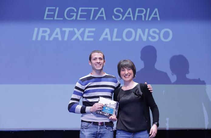 Iratxe Alonso Maiztegik jaso du Debagoieneko Kirol Sarietako Elgeta saria