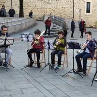 Apirilean Musika: Tronpa, tronpeta eta oboe ikasleen kontzertua