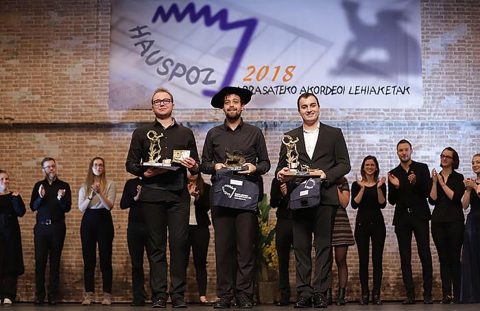 Samuele Telari italiarrak irabazi du 'Arrasate Hiria' nazioarteko 26. akordeoi txapelketa