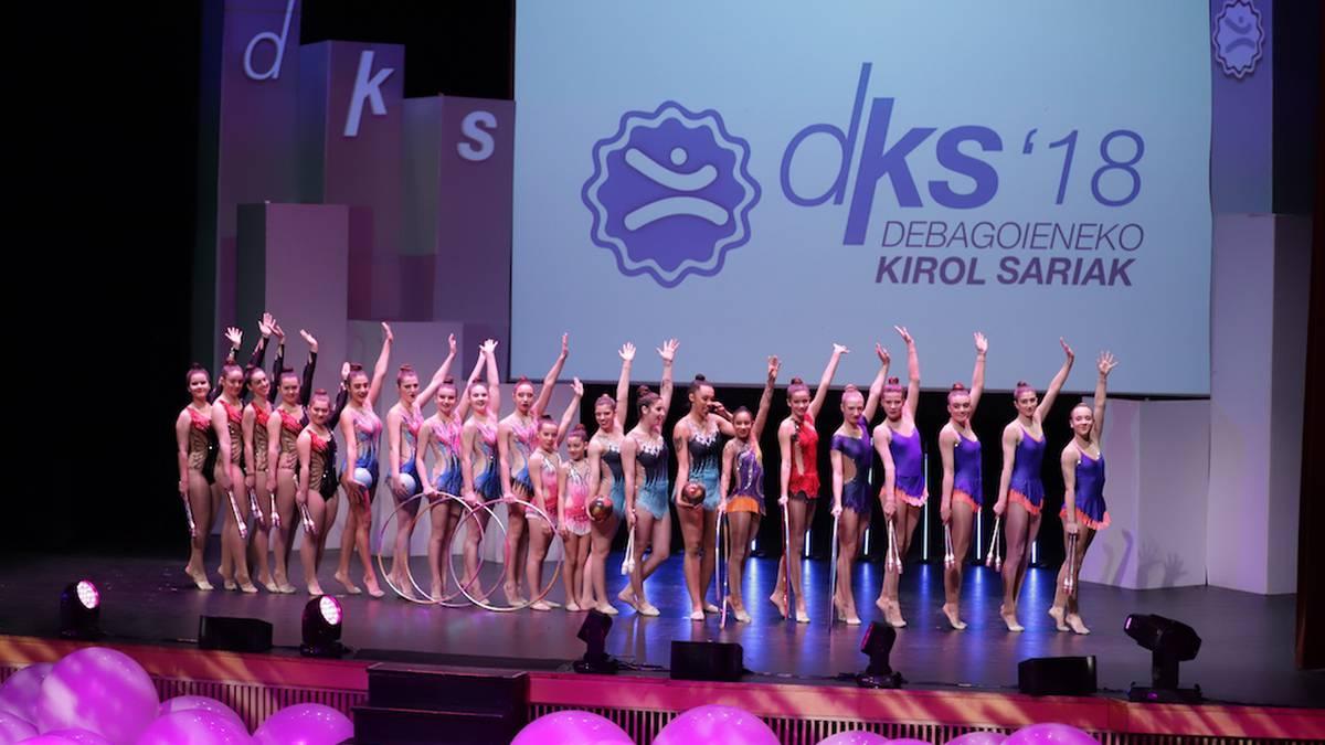 DKS sari nagusiak Maialen Axpek, Martin Perezek eta Ointxe Araski taldeak jaso dituzte