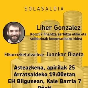 Oñati Haritten: Finantza etikoari buruzko solasaldia