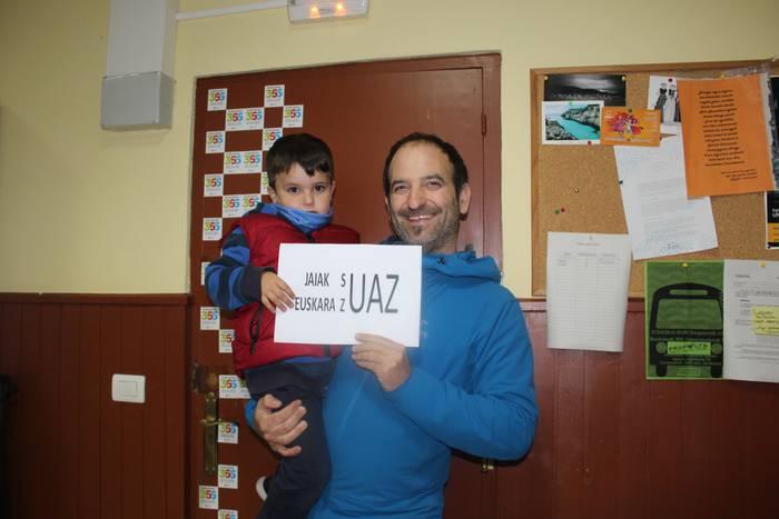 'Jaiak suaz, euskara zuaz' leloak irabazi du San Juanetako esaldi lehiaketa