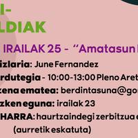'Amatasun feministak' hitzaldia egingo du June Fernandezek