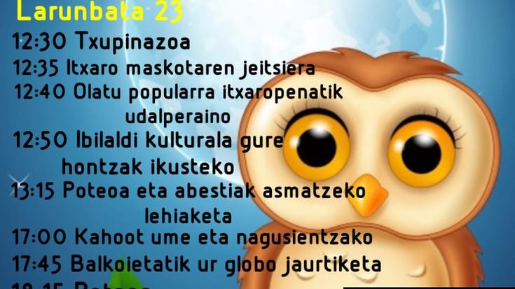Gaurko 'Gautxori Eguna' bertan behera utzi dute