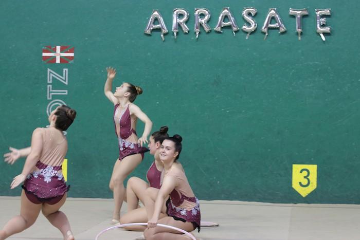 Ikasturte amaierako erakustaldia egin dute arrasateko gimnastek - 11